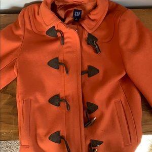 Orange gap coat